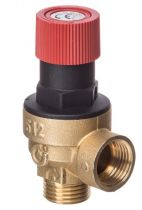 """Safety Relief Valve 1/2"""" Mxf @3Bar 514430 CST"""