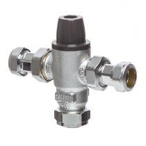 15mm Mixcal Caremix Thermostatic Mixing Valve 521215