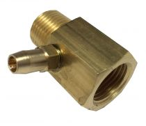 """Test Point Adaptor 1/2"""" Male BSPT x 1/2"""" Female BS"""