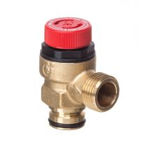 """Safety Valve 1/2"""" X 1/2"""" Pushfit  M With O ring A312438 CST"""