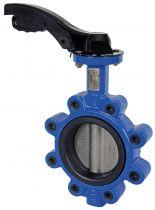 """Albion 4"""" Art 140 Lug & Tap BFly valve EPDM Liner 316SS Disc Lever"""