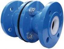 "Albion 5"" Art 236 PN16 Cast Iron Flanged Double Check Valve"