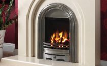 Be Modern Abbey Slimline Inset Gas Fire  Cast Fully Polished AB120FP