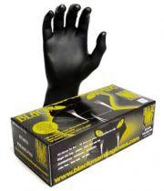 EBONY Disposable Gloves Large ( Nitrile ) Box Of 100