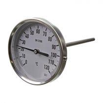 "Proline Pro-Temp Bimetal Thermometer 2.5"" Stem -30°C to +50°C"