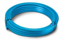 Polypipe 25mm X 25M BLUE MDPE PIPE COIL (8) 2525