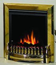 Dimplex Exbury Electric Fire Brass