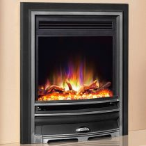 """Celsi 16"""" Electriflame XD Arcadia Black and Chrome EHXDASRE-ERP"""