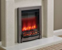 "Elgin & Hall 16"" Ember Electric Fire Black Chrome"