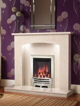 "Be Modern Isabelle 45"" Manilla Micro Marble Surround 59587"