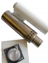 75mm Low Level Hor Flue Kit LLR075