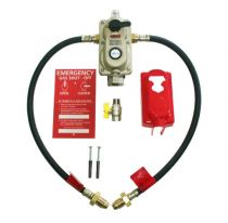 Auto change over valve with OPSO
