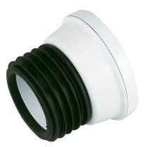 Floplast 110mm Straight WC Connector SP101