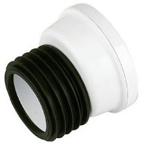 Floplast 110mm Offset WC Connector SP102