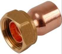 15mm X 1/2  Inch Straight EF Tap Connector