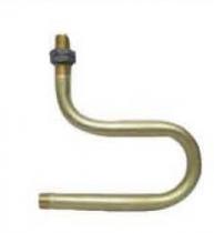 "Proline Pro-Syph 3/8"" U Syphon mild steel with moveable nut"