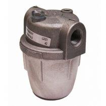 """1/4""""Oil Filter Aluminium Bowl Steel Element"""
